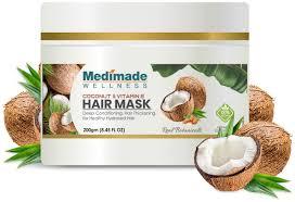 made coconut vitamin e hair