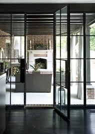 steel framed patio doors