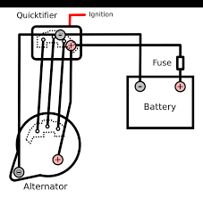 external bridge rectifier for a tougher alternator denso alternator wiring diagram Nd Alternator Wiring Diagram #12