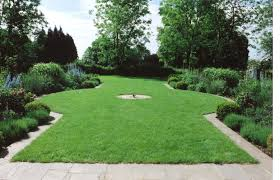 Small Picture Double borders with circular lawn Garden Design by Sara Barraud
