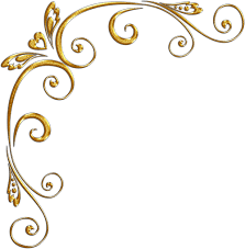 gold swirls png gold corners Золотые уголки png allday