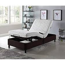 Amazon.com: Home Life Electric Adjustable Platform Bed Frame with ...
