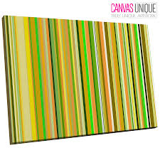 image is loading ab388 green yellow modern line art abstract canvas