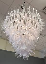 one other image of alternative glass shades for chandelier