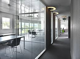 The Future Of Your Office Passes Through The Glass Partition Windows