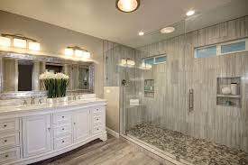 Traditional Master Bathroom with Katherine 72