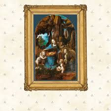 leonardo da vinci virgin of the rocks high renaissance painting famous painting copy