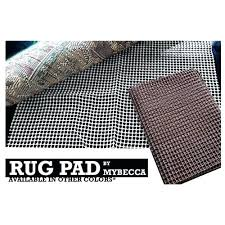 thick rug pads rug pad 5 x 8 ft approx super grip non slip protective and thick rug pads