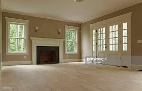 Empty living room of classic home : Stock Photo