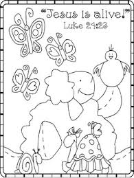 Easter Dot Paint Activity With Coloring Page By Jannysue Tpt