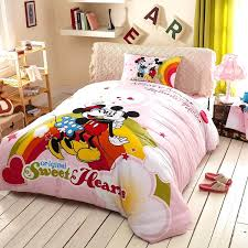 minnie mouse twin bedding size bed set