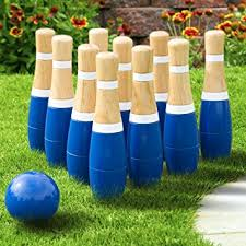 Wooden Lawn Games Amazon Lawn Bowling GameSkittle Ball Indoor and Outdoor Fun 73