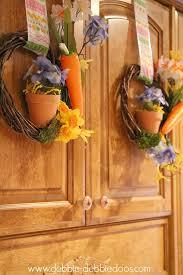 dollar tree spring wreaths 013
