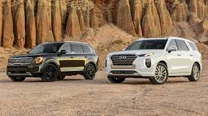 Maybe you would like to learn more about one of these? 2020 Hyundai Palisade Vs 2020 Kia Telluride Korean Cousins Square Off