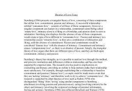 theories of love essay a level psychology marked by teachers com document image preview