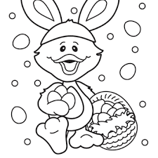 Small Picture Free Easter Duck Coloring Page Hippity Hoppity Easters on its
