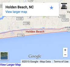 Holden Beach Map Holden Beach Vacation Nc Beaches