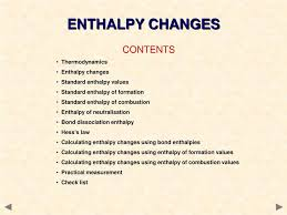 Ppt Enthalpy Changes A Guide For A Level Students