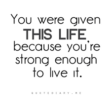 Strong Quotes About Life Simple Anonymous You're Strong Enough Quotes About Life Quotes About Life