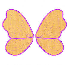 Angel Wings Applique Design Free Fairy Wings Machine Applique Designs Daily Embroidery