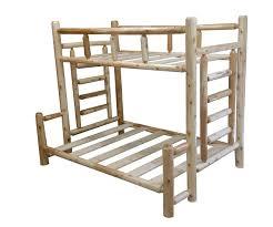 Original Cedar Log Bunk Beds