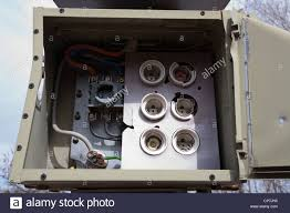 old empty fuse box stock photo royalty image 48111537 alamy stock photo old empty fuse box