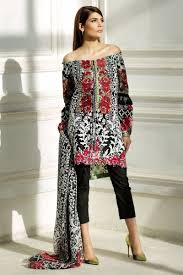Sana Safinaz Best Summer Lawn Dresses Latest Printed Embroidered