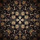 Black and gold backgrounds photo