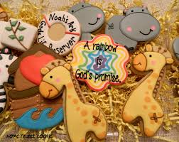 noahs ark baby shower ideas for baby shower party. Noah Baby Shower Favor | Home Sweet Cookie: Noah\u0027s Ark Themed Cookies : Noahs Ideas For Party A