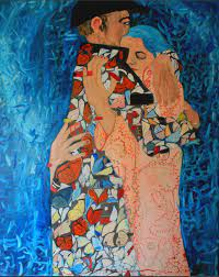 El abrazo del Demiurgo Painting by Luis Key