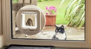 a sliding patio door cat flap