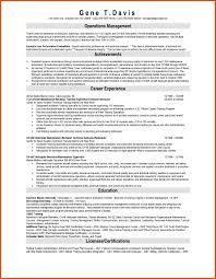Sample Resume Objectives For Maintenance Mechanic Refrence Best