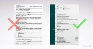 Simple Resumete Sample The Format Of For Job Resumes Vol Free