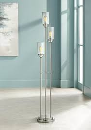 contemporary floor lighting. libby brushed steel contemporary floor lamp lighting