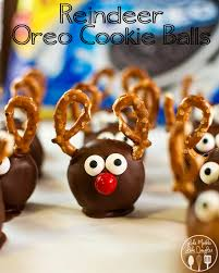 christmas oreo balls. Beautiful Christmas Reindeer Oreo Balls Are Such A Cute And Fun Christmas Treat  They Oreo  Truffles For