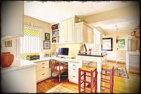 creating a home office. Kitchen Home Office Six Ideas For Creating A Dual Purpose Modernize