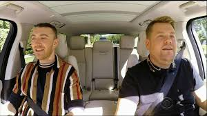 sam smith sings his biggest tracks with james corden on carpool karaoke