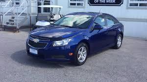 2012 Chevrolet Cruze LT Blue Granite Metallic Roy Nichols Motors ...