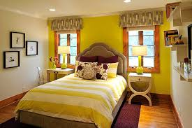 green and yellow bedroom. Brilliant And View In Gallery Yellow Green Bedroom With Plum Accents For Green And Bedroom