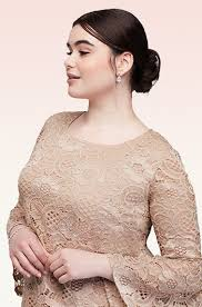dresses to wear to a wedding. beige lace short dress with bell sleeves | david\u0027s bridal dresses to wear a wedding