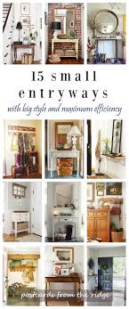Decorating For Entrance Ways 15 Fresh Ideas For Small Entryways Home Entrances Creative And