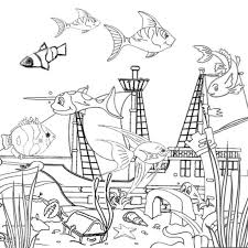 Small Picture Ocean Coloring Pages Printable coloring pages Pinterest