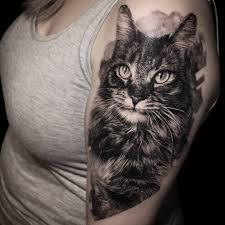 Tatuaggio Gatto Significato Simbolo Di Fierezza E Forza