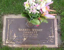 Warren Wesley Garrett (1929-1999) - Find A Grave Memorial