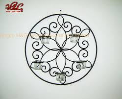 china metal wall candle holder