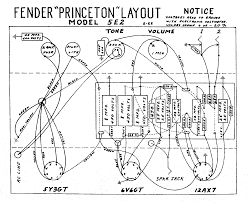 fender layout diagrams fender princeton 5e2 layout diagram