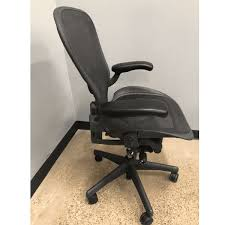 Aeron Office Chair Size Chart Used Herman Miller Aeron Chair V2 Size C