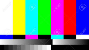 Television Test Pattern Custom Ideas