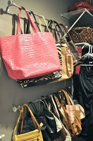 ideas ways to organize purses in closet bes ways