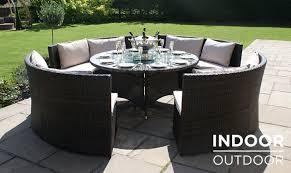innovative outdoor dining sofa set barbuda garden sofa dining set fishpools